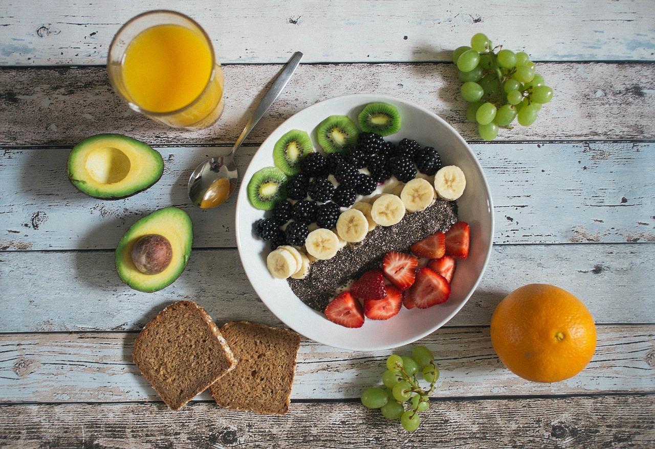 avocado, breakfast, bread